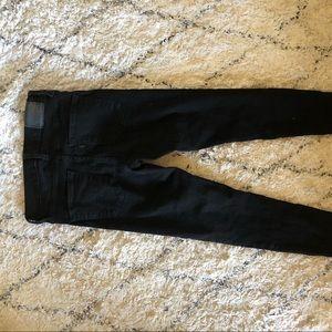 Stretch Levi's black skinny jeans pants